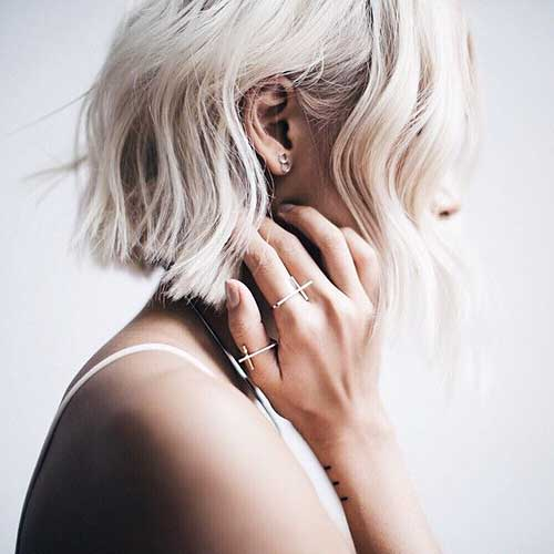 Short Blonde Hairstyles - 20