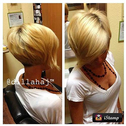 Short Blonde Hairstyles - 22
