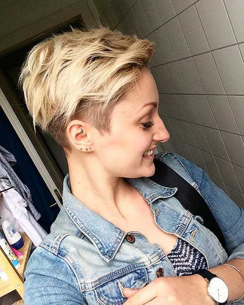 Short Blonde Hairstyles - 32