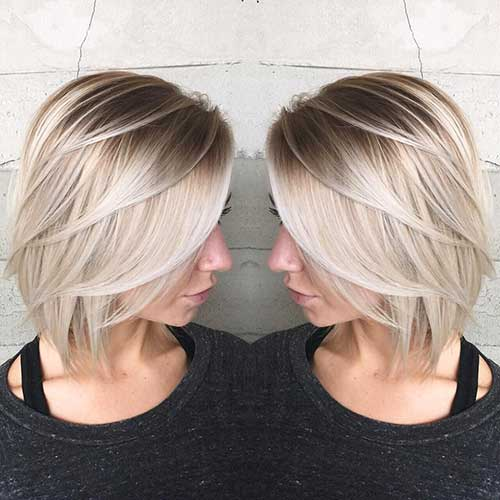 Short Blonde Hairstyles - 35