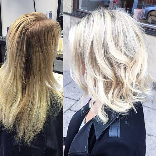 Short Blonde Hairstyles - 40