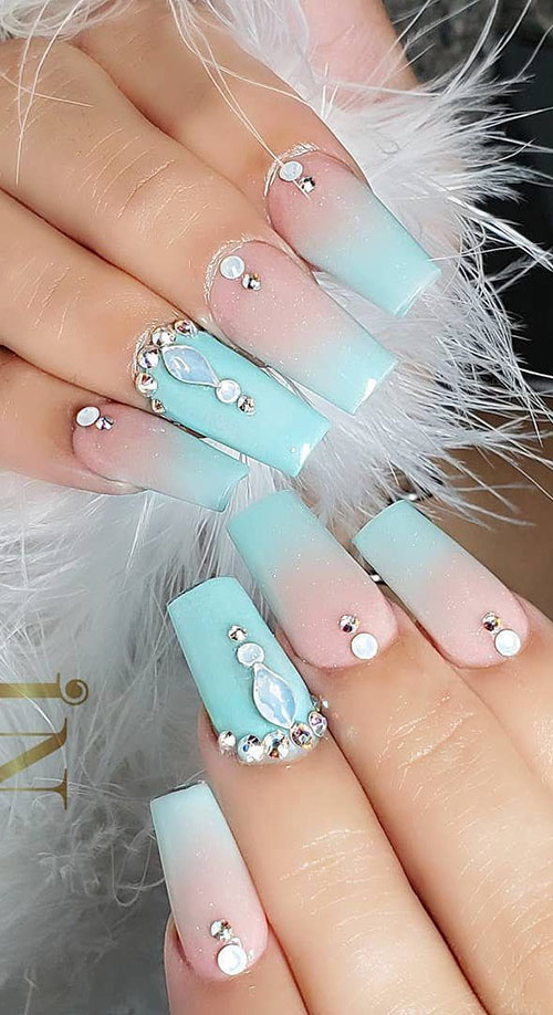 Different Nail Extension Shapes