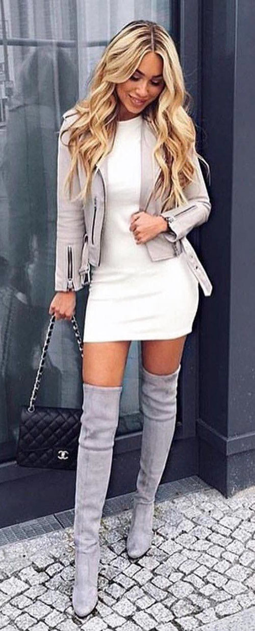 Winter Dress Outfits For Women
