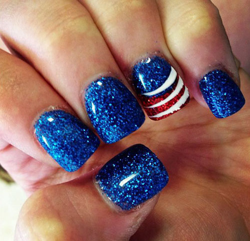Independence Day Nail Designs