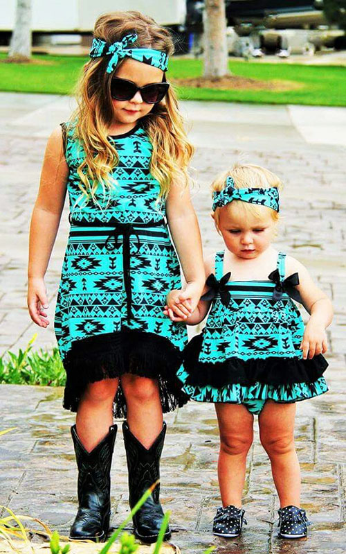 Big Sister Little Sister Matching Outfits