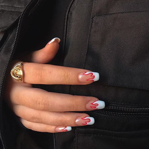 Full Tip Nails Pictures