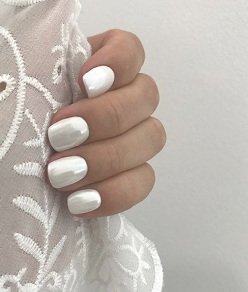 Mother Of Pearl Nails