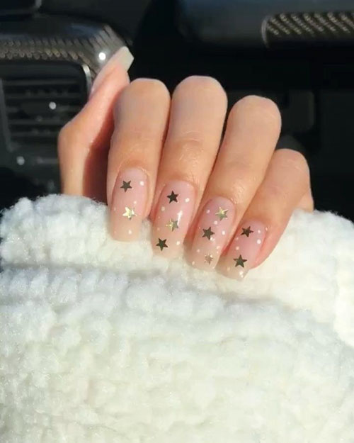 Simple But Cute Nails