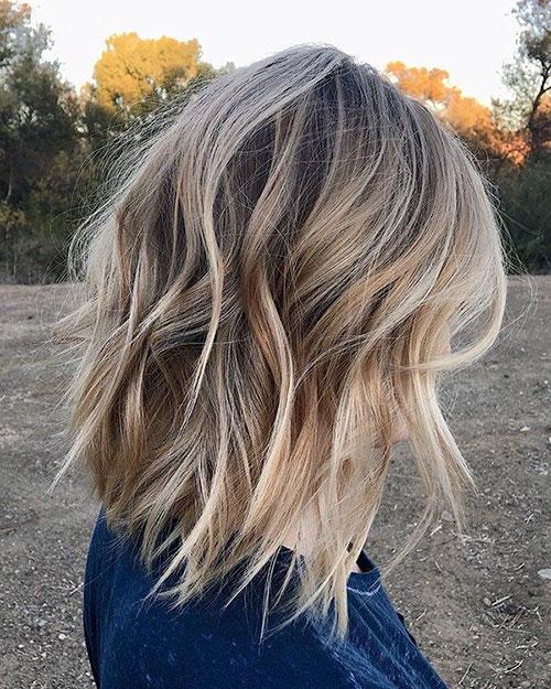 Choppy Lob Hairstyles