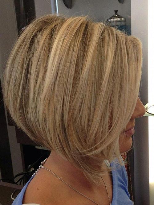 Angled Bob Haircut