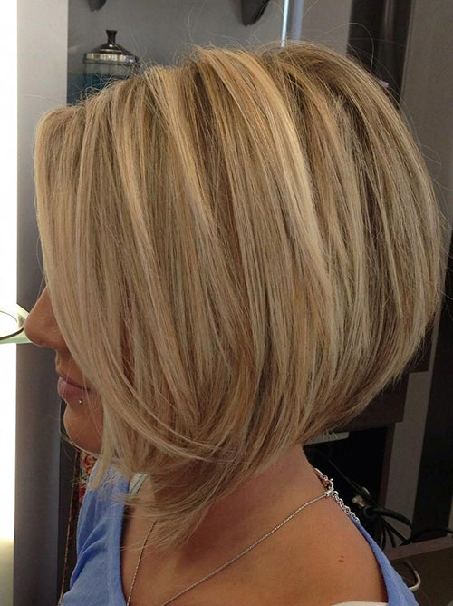 Layers For Angled Bob